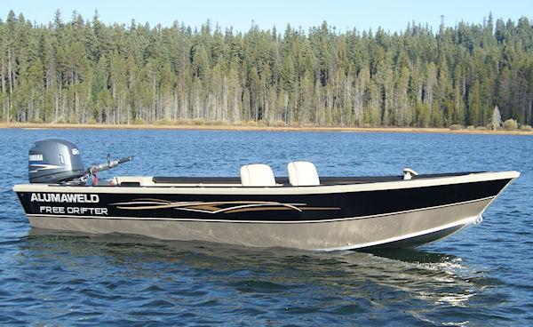 Alumaweld premium all welded aluminum fishing boats for for Free fishing boats